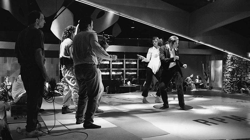Quentin Tarantino a Ponyvaregény táncjeleneténél