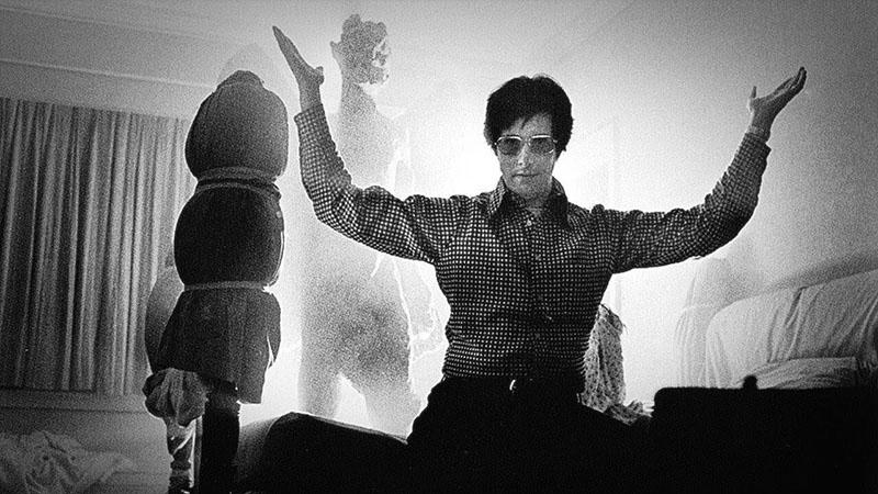 William Friedkin, a háttérben Pazuzo, a démon