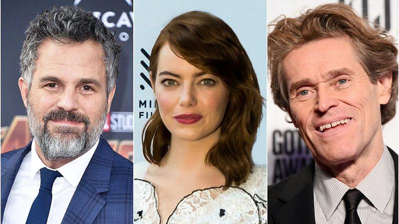 Mark Ruffalo, az Oscar-díjas Emma Stone, és Willem Dafoe is Budapestre jön