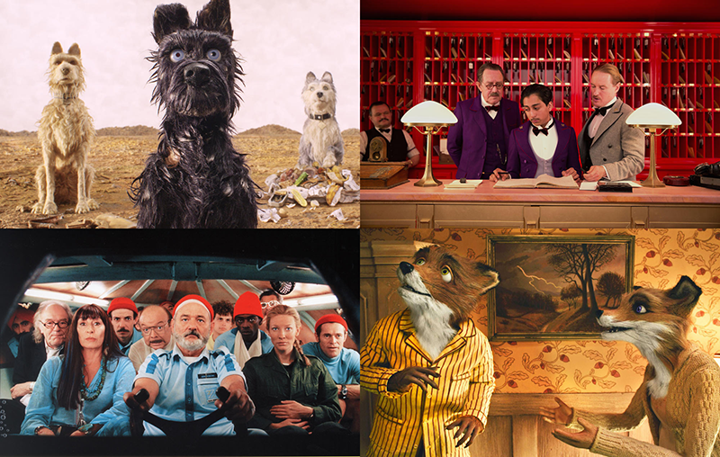 Wes Anderson filmjei