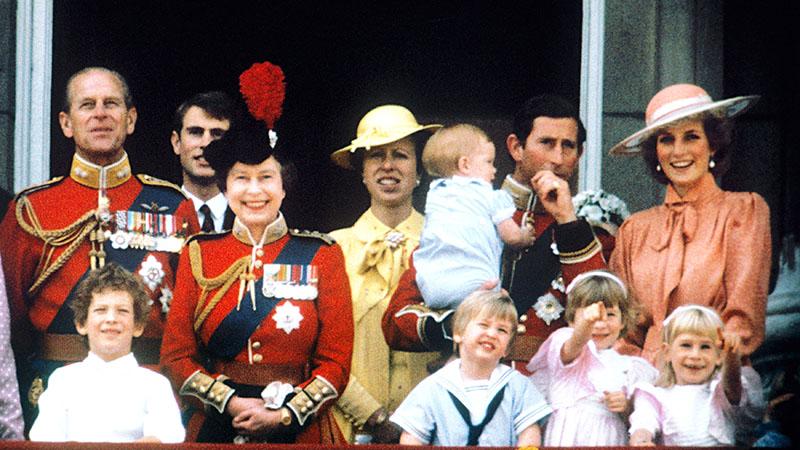 A Windsor-ház a 80-as években