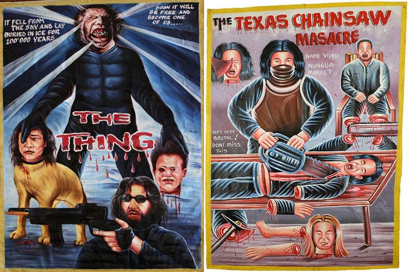 A dolog és a Texasi láncfűrészes mészárlás