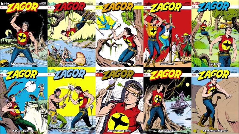 Zagor jelenleg is az egyik legnépszerűbb olasz képregényhős
